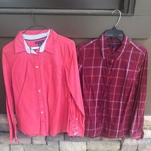 Both for $30 Tommy Hilfiger Button Up